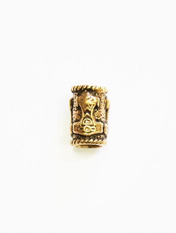 Grimfrost - Mjolnir Beard Ring, Bronze