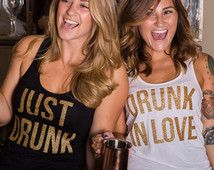 Fun bachelorette party tanks from Etsy! #bacheloretteparty #vipbachelorette #chicagobachelorette