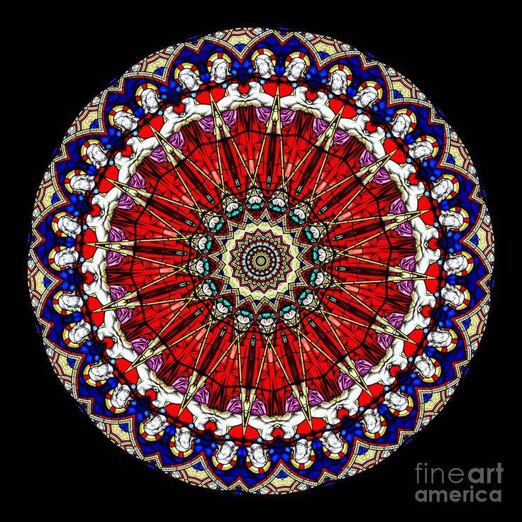 Kaleidoscope Ca: Kaleidoscope Stained Glass