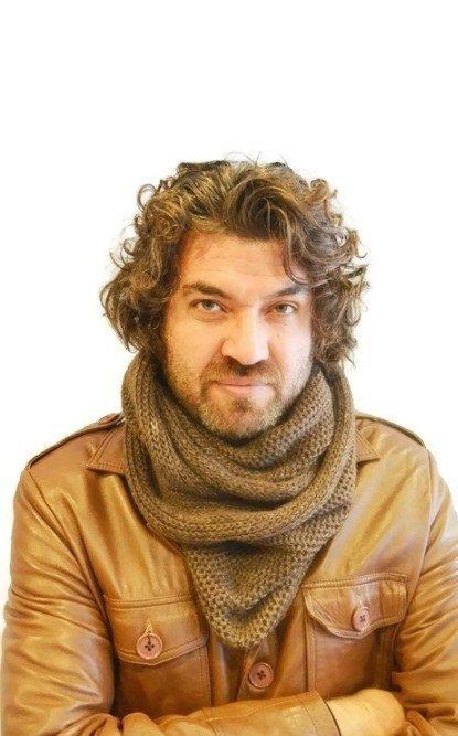 Men's scarves Brown Infinity scarf, circle scarf, Cowl scarf, loop scarf, men scarves, Scarf Neck Warmer