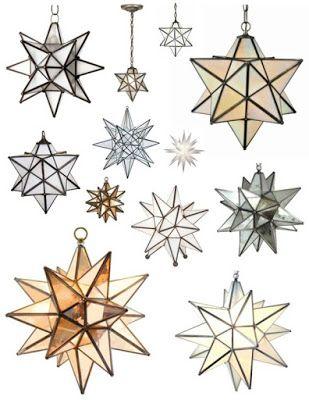 Decorar con lámparas estrella marroquíes   Mi Casa es Feng