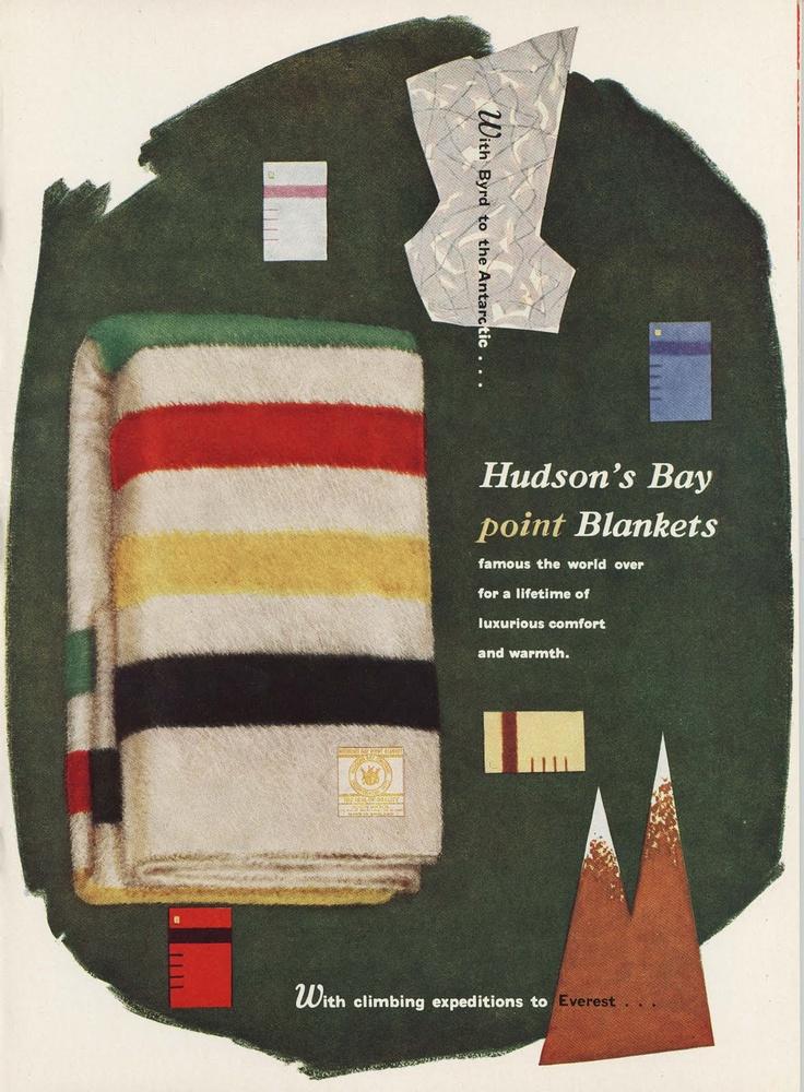 Hudson S Bay Vintage Advert Native Hudson S Bay