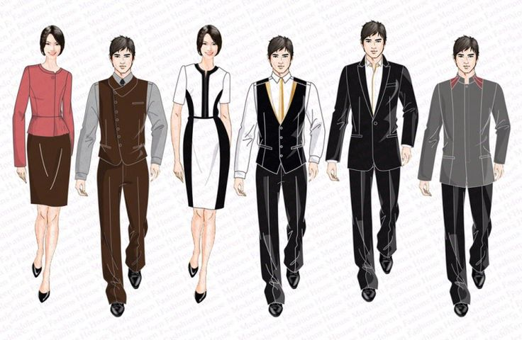 Hotel Uniform & Country Club Concierge Uniform Design Singapore