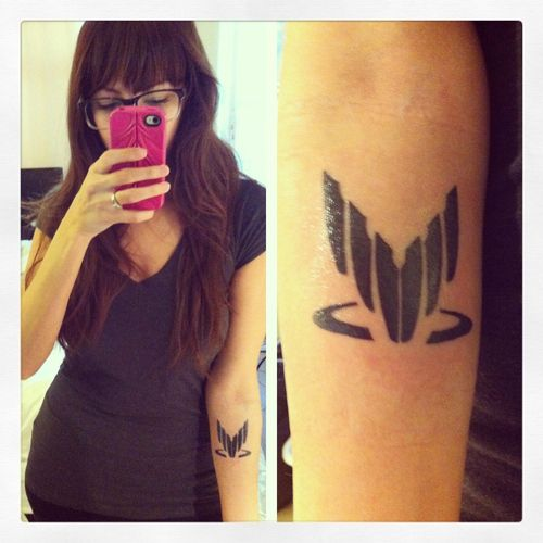 Mass Effect Spectre Tattoo