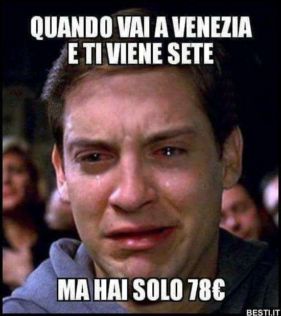 Quando vai a Venezia