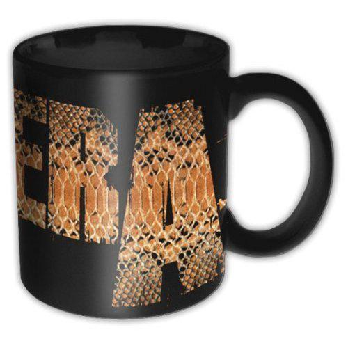 """Tazza in ceramica """"Snake"""" dei #Pantera."""