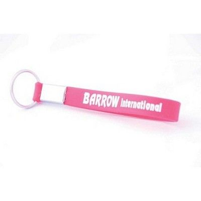 Printed Silicone Wrist Band Keyring Min 500 - Custom Wristbands & Watches - OC-SIWB1 - Best Value Promotional items including Promotional Merchandise, Printed T shirts, Promotional Mugs, Promotional Clothing and Corporate Gifts from PROMOSXCHAGE - Melbourne, Sydney, Brisbane - Call 1800 PROMOS (776 667)