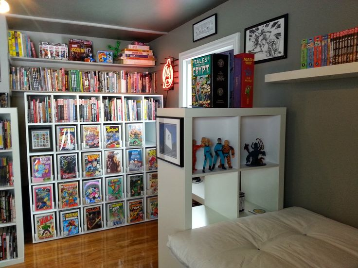 52 best images about comic book storage display ideas on for Ikea comic book
