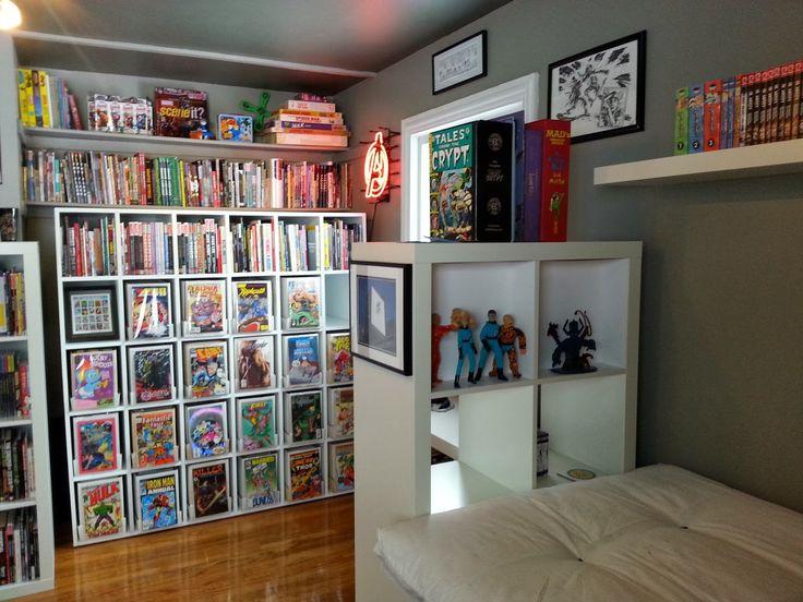 17 best images about comic storage on pinterest graphic. Black Bedroom Furniture Sets. Home Design Ideas