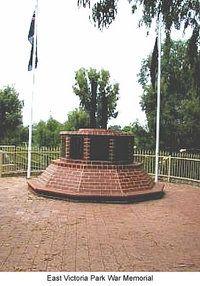 war memorial Vic Park WA - Google Search