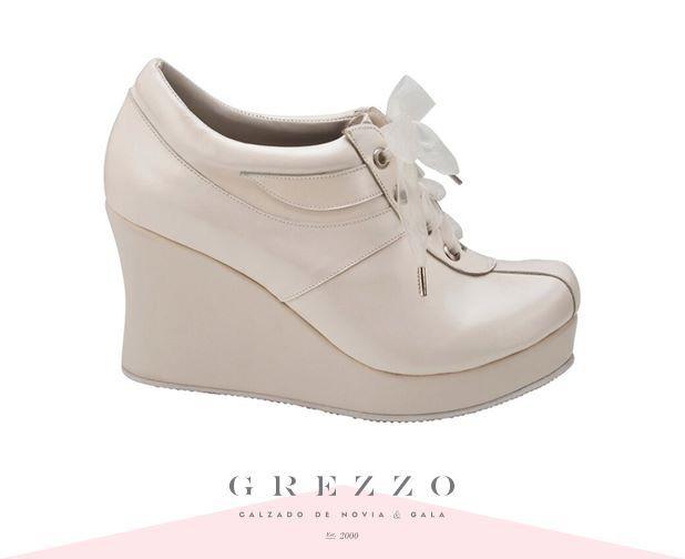 Zapato de Novia, GREZZO. Alonso de Cordova 4034, Vitacura, Chile.