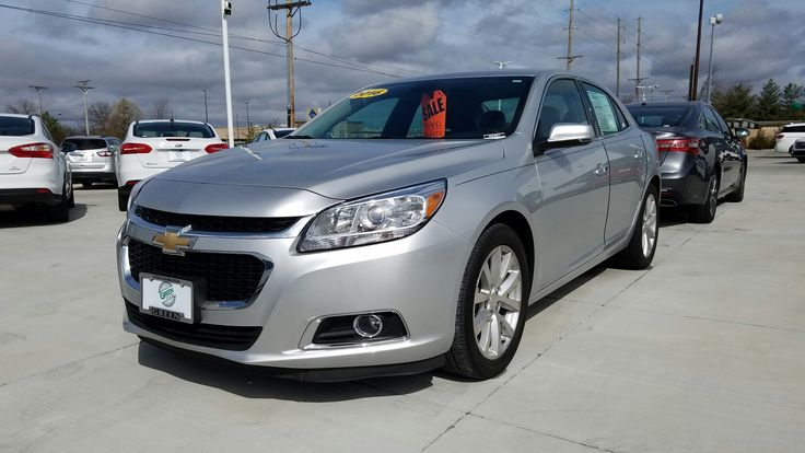2016 Chevy Malibu LTZ $15,999 plus ttl.