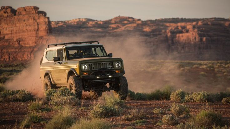 Really Really Want this...A Modern, Corvette-Powered Jeep Disguised as a Classic Scout Truck | Outside Online