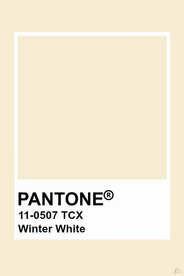 a8f5e4a09fe97 Pantone Winter White | Color in 2019 | Colores de pintura, Colores ...