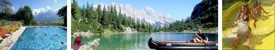 Bergseen und Schwimmbäder in der Tiroler Zugspitzarena