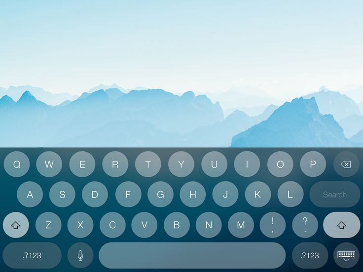 Dribbble - full.keyboard.jpg by Apostol Voicu