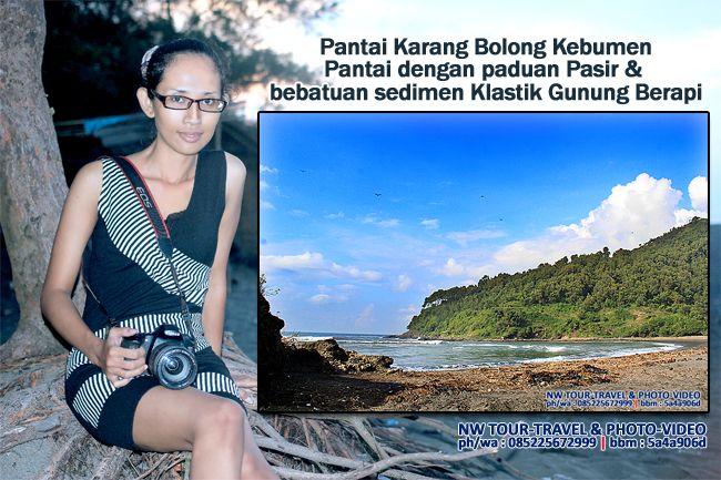 Nurmalia Windy: Pantai Karang Bolong Kebumen - Pantai dengan padua...