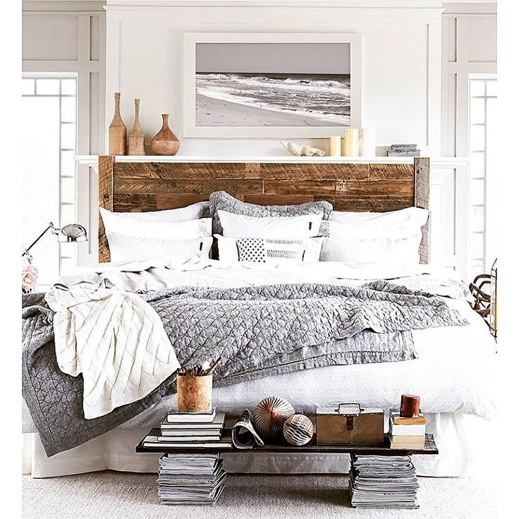 #interior #inspiration #home #cosy #greyscale #shabbyhome #shabbychicdecor #winter #bedroom #bedroomdesign #bedroominspiration by interiorsofinsta
