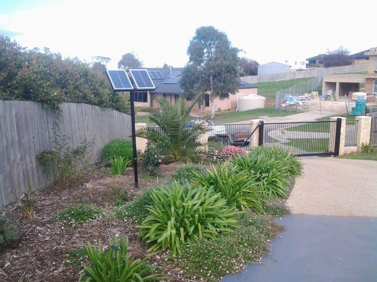 Solar Powered Automatic Sliding Gate. The Motorised Gate Company. Visit us @ www.themotorisedgatecompany.com.au
