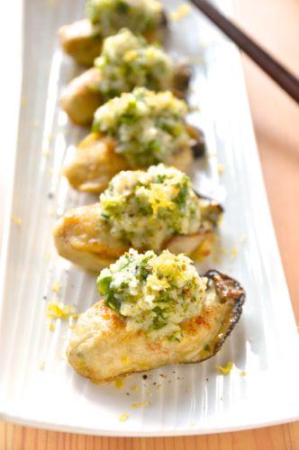 #473 牡蠣のソテー パクチーレモンおろし添え|【365日ワインのつまみ】ワインに合うおつまみレシピ