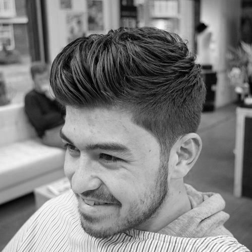 Modern Quiff Hairstyles For Guys With Short Length Sides