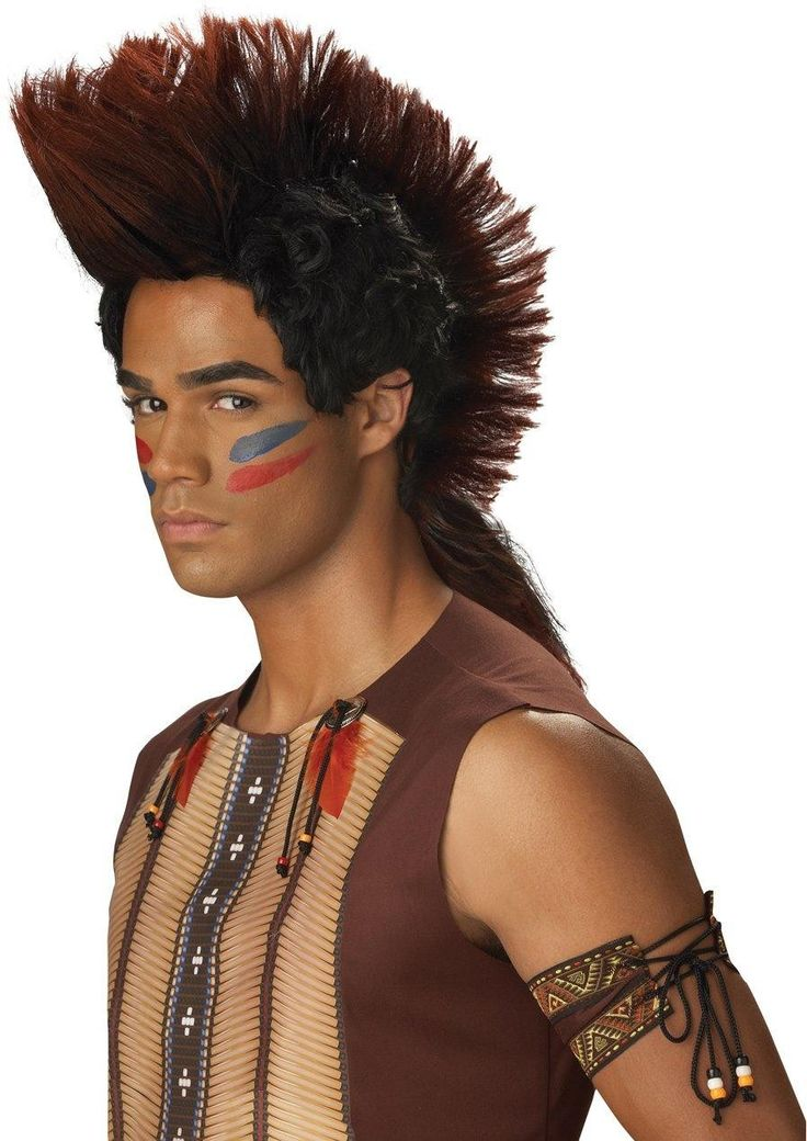 Native American Costume Face Paint MakeUp Idea | ❤️Native ...