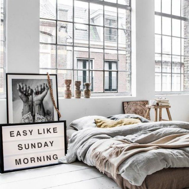 Chambre chic style new-yorkais