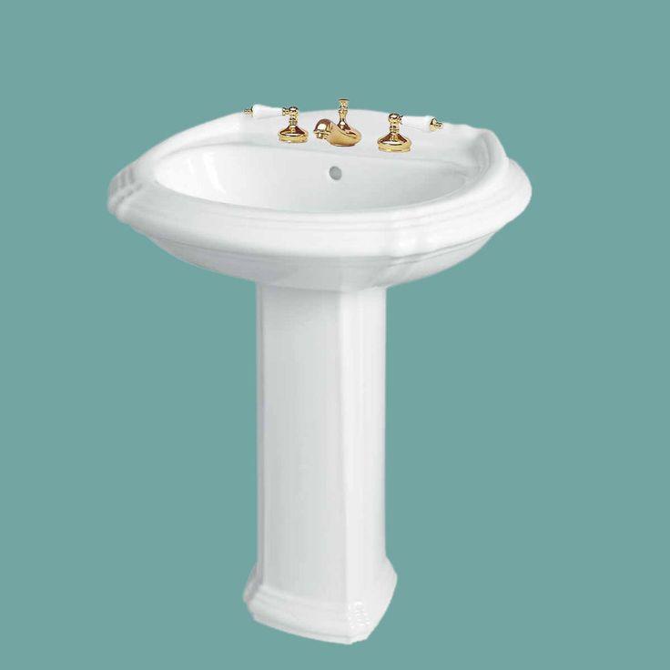 Bathroom Pedestal Sink White China Sheffield Widespread|Renovatoru0027s Supply  In Home U0026 Garden, Home