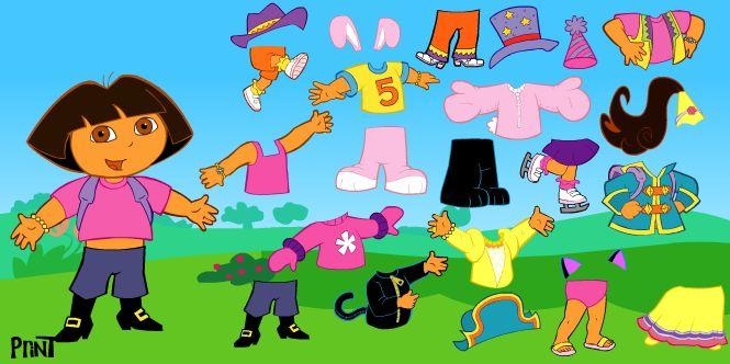 لعبة تلبيس دورا ملابس الربيع لعبة حلوة من العاب دورا  Dora Games الرائعة جداً علي العاب فلاش ميزو