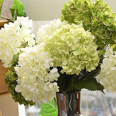 1+kimppu+silkki+hortensiat+kukkien+sisustuksessa+häät+kukkakimppu+–+EUR+€+3.97