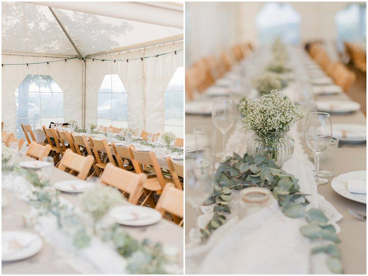 Melina andChristopher's Laid Back Bohemian Do it Yourself Wedding by Rebekka Weiland Fotografie
