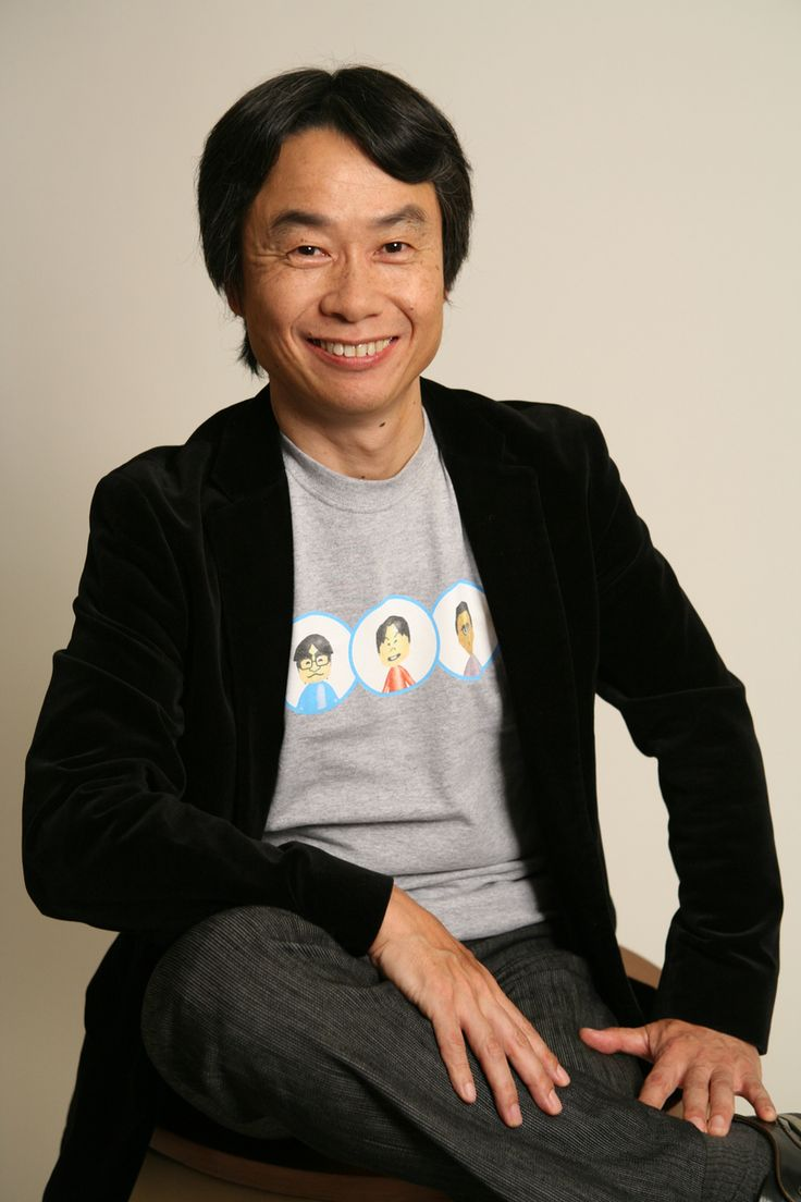 shigeru miyamoto mario - the creator of Nintendo games Mario brothers, Legend of Zelda, Donkey Kong, Splatoon etc photography