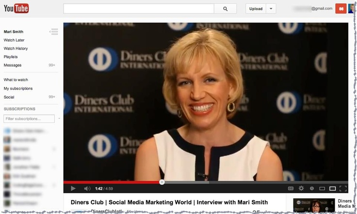 #MariSmith    Fun interview with the Diners Club International President, Eduardo Tobon at Social Media Marketing World 2013!! ▶ http://youtu.be/offbE8ld0q8  In this short session, we talked about:  1) Trends and predictions for 2014 in the social space  2) Pitfalls companies should avoid in social media  3) Why the Club model works so well