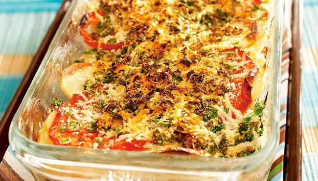 Napolin jauheliha-kasvisvuoka - K-ruoka