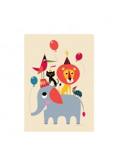 OMM DESIGN Animal Party Print