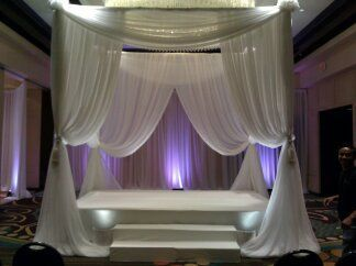 Loving how beautiful this #uplighting #wedding #reception looks with the #chuppah and & 10 best Wedding Canopy / Chuppah Inspiration images on Pinterest ...