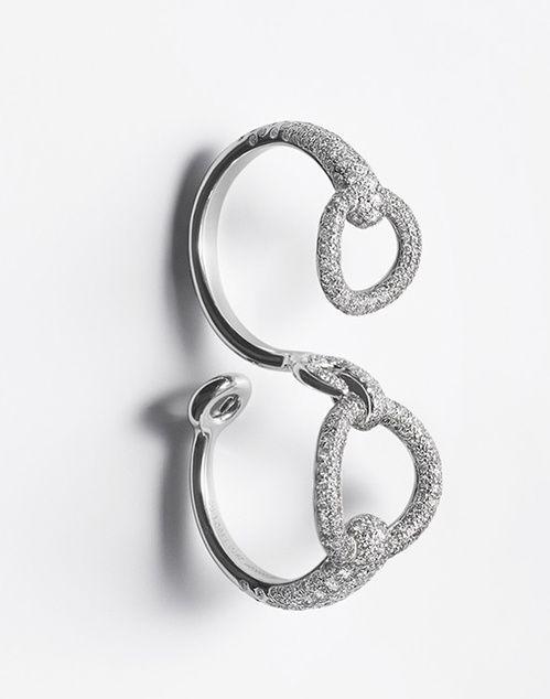 Bijoux: La bague en diamants d'Hermes