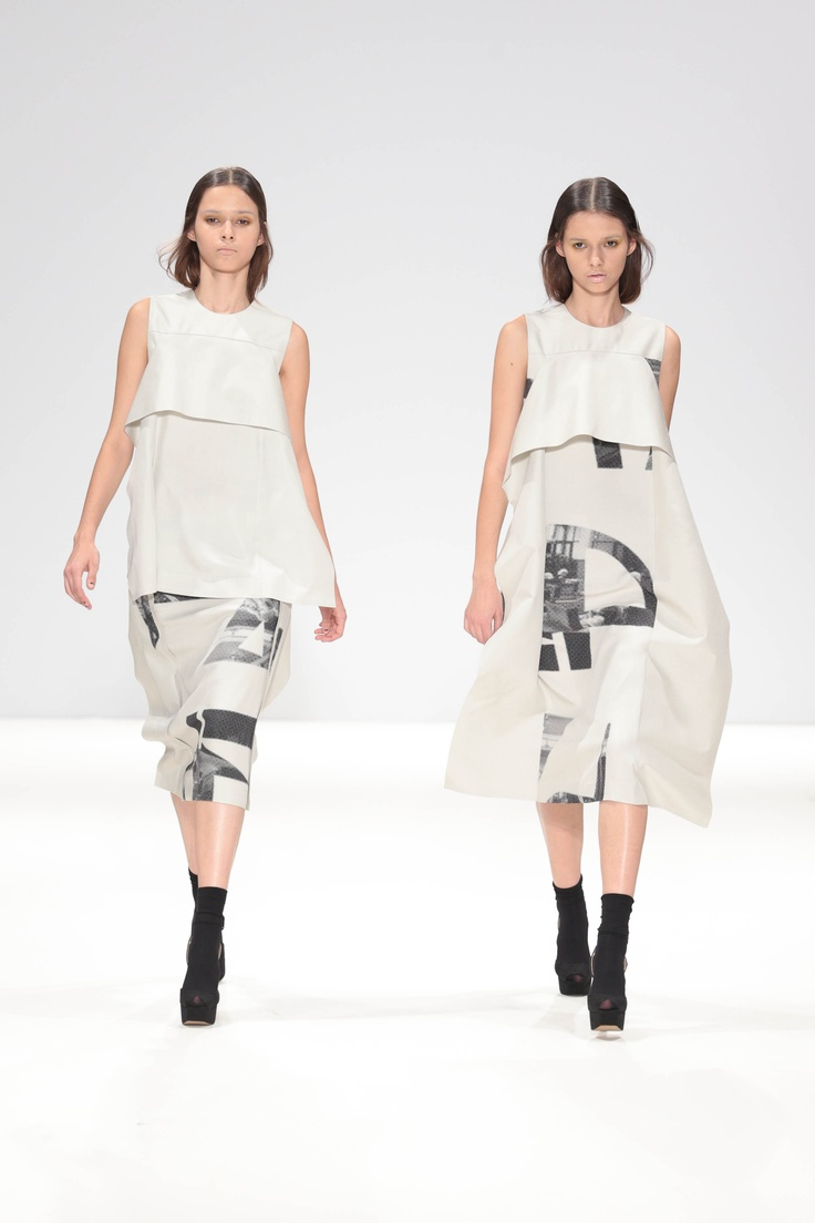 Heohwan Simulation SS13 taken by house photographer Simon Armstrong