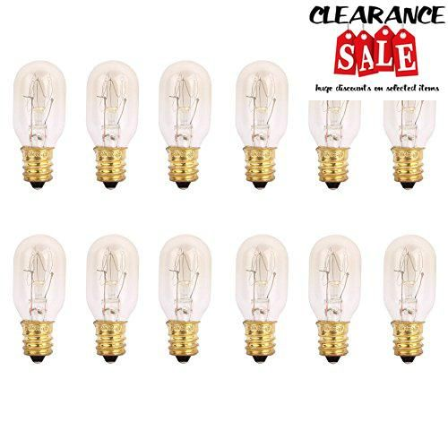 #shopping Each package which has 12 bulbs Bulb -25 #Watt, fits E12 Socket Whole bulb size: 1.9x0.8 inch Not only can replace the salt lamp bulbs it can also repl...