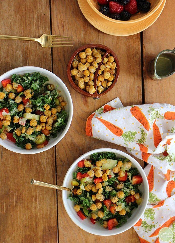 20 Fresh and Vibrant Vegan Springtime Salads