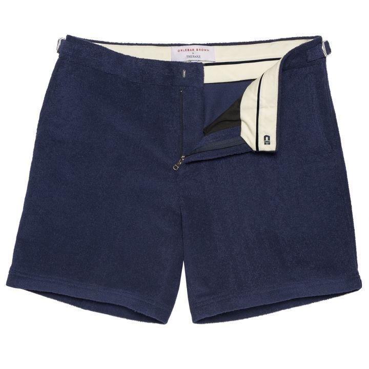 Dayton - Towelling Shorts - Navy