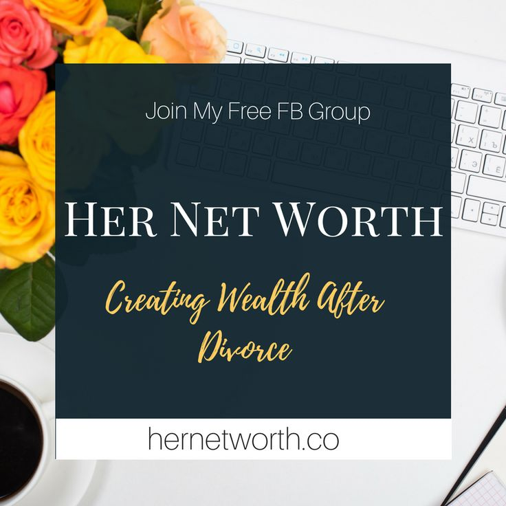 Have you been through a Divorce and are tired of being stressed over your Money Situation? Join us at Her Net Worth to discover tips on how to organize your money so that you can create a life of stress free wealth. Take the first step and come on in!