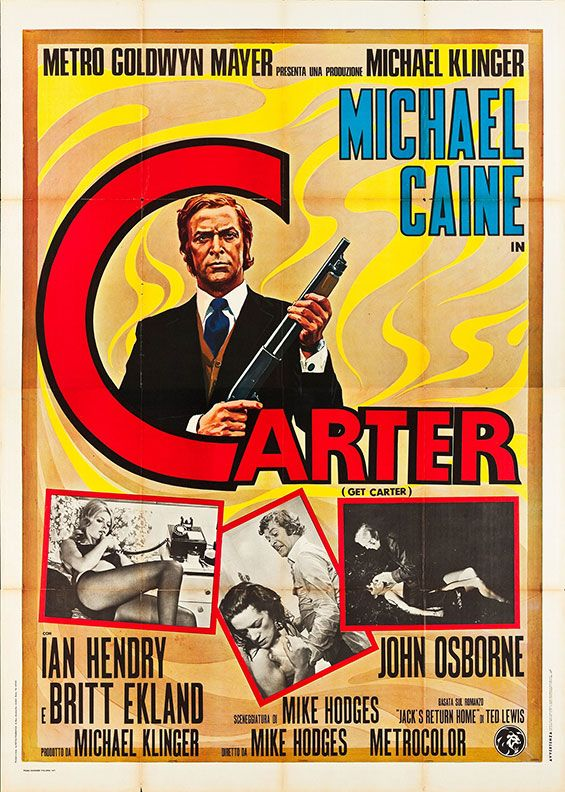 "Movie Poster of the Week: Mike Hodges' ""Get Carter"" on Notebook 