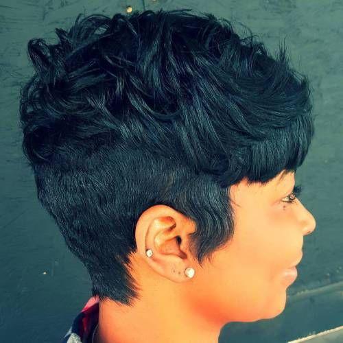 African American Short Haircuts
