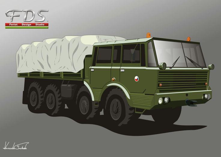 Tatra 813 8x8 army truck