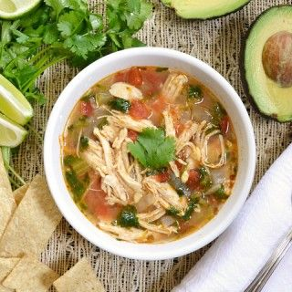Budget Bytes | Chicken & Lime Soup