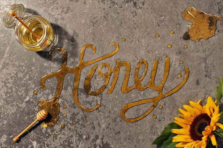Bespoke food typography made for Sainsbury's 'Twist your favourites' campaign.