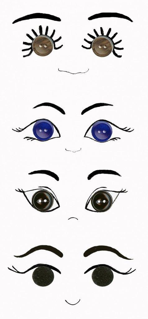 Olhos de boneca: