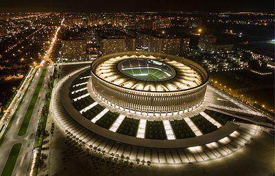 От Сатурна до Краснодара как в России открывались футбольные стадионы - ТАСС