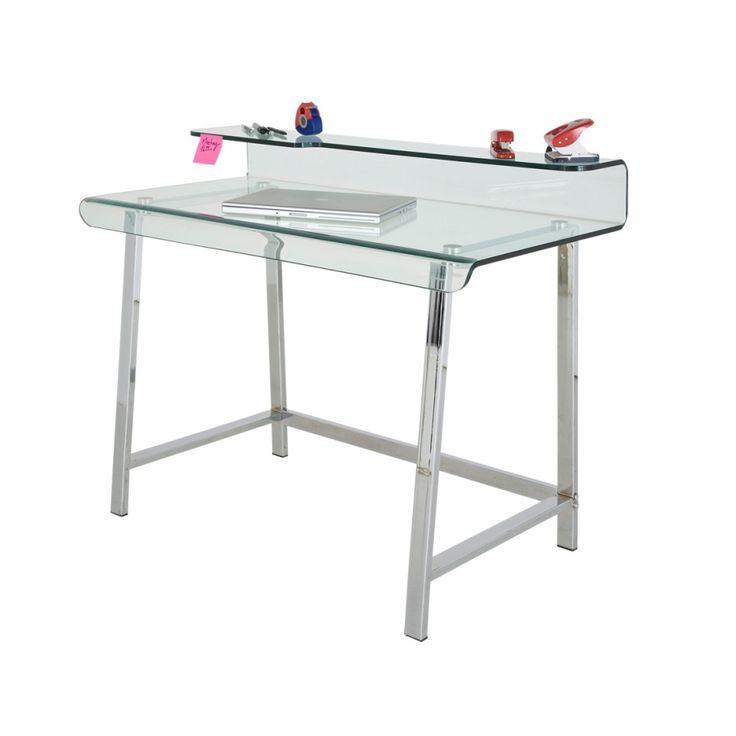 Schreibtischplatte glas  Die besten 20+ Schreibtisch mit glasplatte Ideen auf Pinterest ...